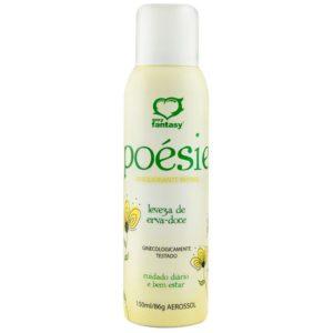 Poésie Desodorante Íntimo em Aerossol Aromático Erva Doce 150ml Sexy Fantasy