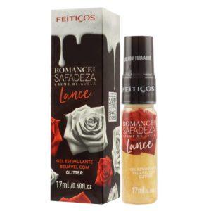Romance com Safadeza Lance Gel Estimulante Sabor Creme de Avelã 17 ml