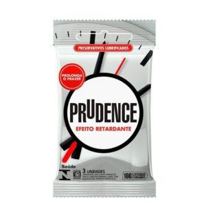 Preservativo Efeito Retardante Com 3 Unidades Prudence P 0001