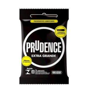Preservativo Extra Grande Com 3 Unidades Prudence P 0002
