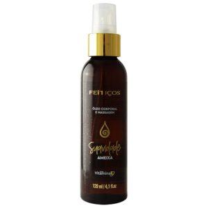 Óleo Hidratante Aromático Suavidade Ameixa Para Massagem Corporal 120ml