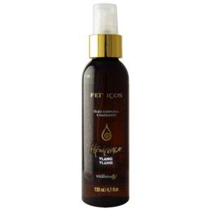 Óleo Hidratante Aromático Afrodisíaco Ylang Ylang Para Massagem Corporal 120ml