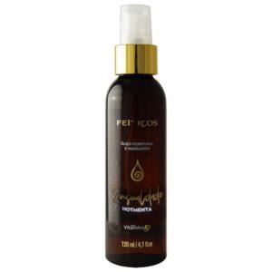 Óleo Hidratante Aromático Sensualidade Hotmenta Para Massagem Corporal 120ml
